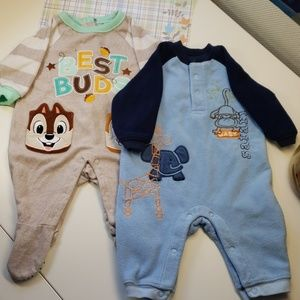 4/$24 - Bundle of 2 Fleece Pajamas
